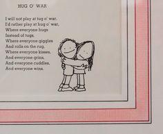 Nursery art made out of Shel Silverstein poems. Love it.