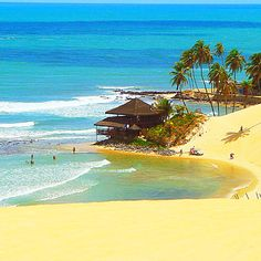 'Got Places To Go and People To See' (Natal - Rio Grande do Norte - Brazil) Rio Grande Do Norte, Places To Travel, Places To See, Travel Destinations, Places Around The World, Around The Worlds, Brazil Beaches, Argentine, Vacation Spots