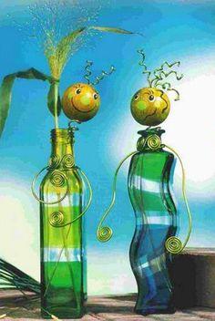 manualidades recicladas verdes e ideas para regalos únicos