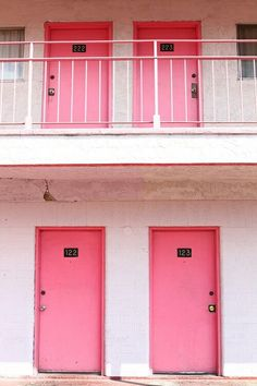 Can we paint our door pink, please!?