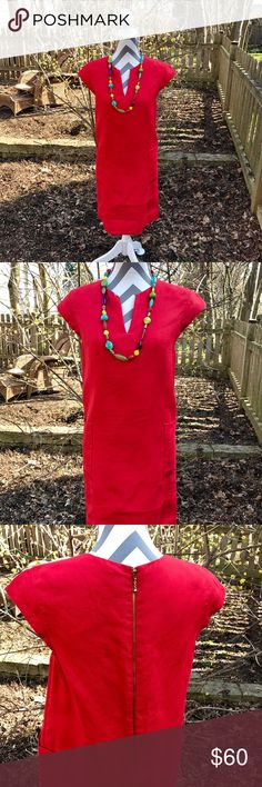 Kate Spade ♠️ dress Linen lined dress by Kate Spade kate spade Dresses Midi