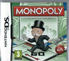 Nintendo DS Monopoly  (plays 3ds in 2D)