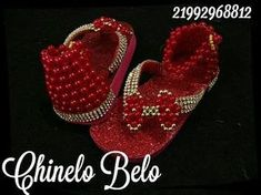 Beaded Shoes, Beaded Sandals, Crib Shoes, Baby Shoes, Flip Flop Sandals, Flip Flops, How To Make Shoes, Kid Styles, Cloth Bags