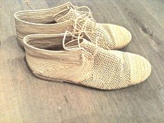 // Handmade Moroccan straw shoes <3 <3 <3