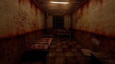 ArtStation - Silent Hill hospital room, Dmitriy Masaltsev