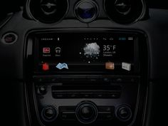 Jaguar - Android Ice Cream Sandwich connected car UX/UI design by Dedric Reid