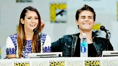 Nina Dobrev attends The Vampire Diaries Panel at SDCC Comic Con on July 26, 2014