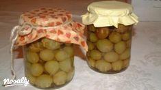 Szőlőbefőtt   Nosalty Garlic, Jar, Vegetables, Food, Lilac, Essen, Vegetable Recipes, Meals, Yemek