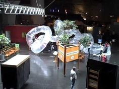 Cool temporary inflatable sculpture at the Exploratorium