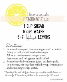 (C): theidearoom.com | #wittyvows #potd #trending #lemonade #recipe #recipeideas #hacks #tips #recipe #recipeoftheday #recipesfordinner Refreshing Drinks, Summer Drinks, Fun Drinks, Beverages, Cocktails, Non Alcoholic Drinks, Alcholic Drinks, Smoothie Drinks, Smoothies