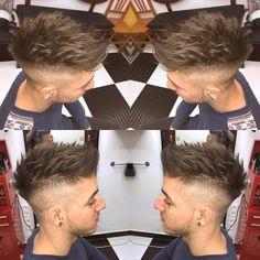 いいね!179件、コメント3件 ― Alvaro Vargas Rosoさん(@vargasbarbercutz)のInstagramアカウント: 「Supple Texture#barbershop #barberskill #barberlife #faded #razor #shave #line #side #part #beard…」