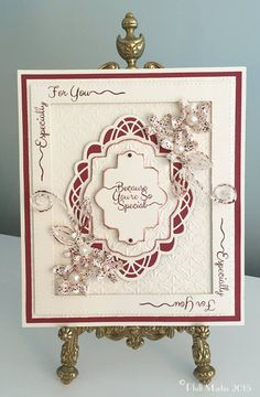 Beautiful card made by Phill Martin