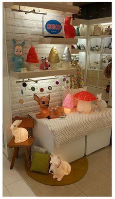 shop display, Heico lamps