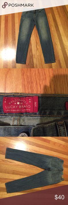 Lucky Brand jeans sienna cigarette 2/26 Lucky Brand Jeans Skinny