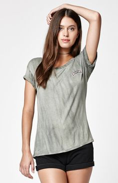 Army Brushed Crew Neck T-Shirt