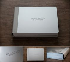 Graphistudio Metallic Grey Varnished Cover - Light Grey Cloud Leatherette Spine & Back Wedding Album Cover, Wedding Photo Albums, Wedding Photos, Wooden Wedding Guest Book, Wedding Book, Wedding Photo Walls, Album Covers, Cards Against Humanity, Photo Books