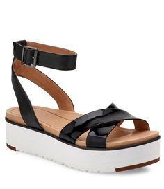 1d75222ec858 Shop for UGG® Tipton Leather Sandals at Dillards.com. Visit Dillards.com