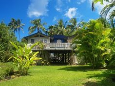 Downstairs studio in private beach house near Tunnels - 3min walk to beach Vacation Rental in Hanalei from @homeaway! #vacation #rental #travel #homeaway