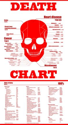Death Chart USA. Bees are more deadly than sharks