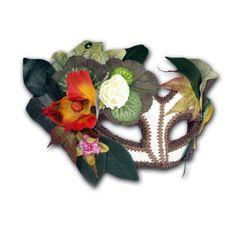 Amazon.com: Autumn Fairy Half Mask: Costume Masks: Clothing