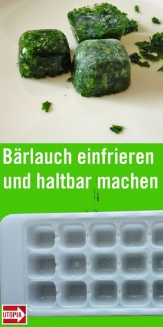 Bärlauch einfrieren und haltbar machen - so gelingt's - Utopia.de Freezing wild garlic makes sense if you have collected too many leaves or want to preserve larger amounts for the rest of the y Classic Spinach Dip Recipe, Mexican Spinach Dip Recipe, Homemade Spinach Dip, Baked Spinach Dip, Best Spinach Dip, Spinach Cheese Dip, Creamy Spinach Dip, Cheese Bread, Spinach Appetizers