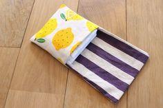 ハンカチみたいなワンポケットポーチの作り方 : 夏の夕べのガタガタ日記