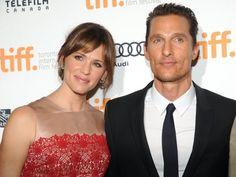 Jennifer Garner and Matthew McConaughey at TIFF 2013 for Dallas Buyers Club.