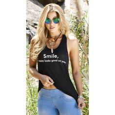 Camiseta Smile Negro