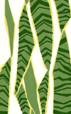 snake greenie, Ophelia Pang painting instead of plants if you cant keep them alive! Pattern Vegetal, Textures Patterns, Print Patterns, Graphic Patterns, Plant Art, Motif Floral, Grafik Design, Botanical Art, Art Inspo