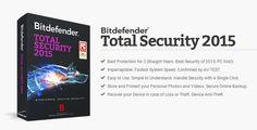 Nhanh tay nhận bản quyền 6 tháng phần mềm Bitdefender Total Security 2015