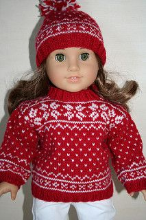 Ravelry: WildHorses' American Girl winter outfit