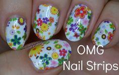 OMG Nail Strips via @beautybymissl #omgnailstrips @omgnailstrips