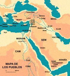 FRASES BÍBLICAS: MAPAS DE LA HISTORIA E LA SALVACION