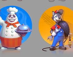 """Check out new work on my @Behance portfolio: """"Brand character"""" http://be.net/gallery/49361481/Brand-character"""
