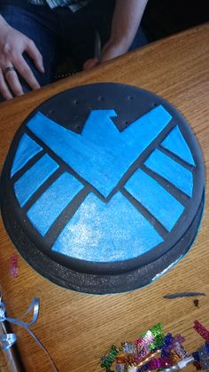 Marvel Agents of Shield Cake
