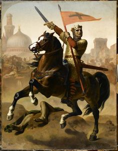 Godefroy de Bouillon, duc de Basse-Lorraine, élu Avoué du Saint Sépulcre de Jérusalem en 1099