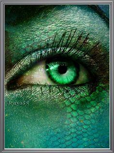 Teal lizard~