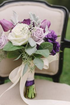 Purple Wedding Color Palettes for 2016