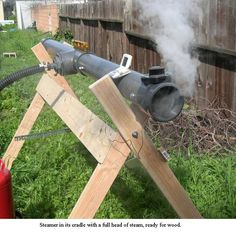 Ultimate Steam Box - Homemade steam box constructed from PVC, radiator hose, and a steel can boiler. Woodworking Techniques, Woodworking Jigs, Woodworking Projects, Steam Box, Steam Bending Wood, How To Bend Wood, Small Wood Projects, Wood Boats, Got Wood