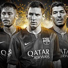 Messi, Suárez e Neymar (Foto: Divulgação)