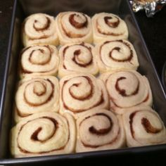 Cinnamon rolls:) check out pioneer woman's recipe