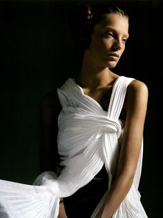 Daria Werbowy for Vogue Italia
