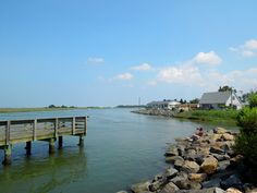 Discover Southern Delaware.  Fishing at Massey's Landing in Long Neck.