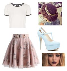 """""""Hazel outfit"""" by ashlyncasey on Polyvore featuring Chicwish and Topshop"""