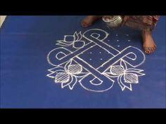 Friday kolam 74 by learn kolam - YouTube
