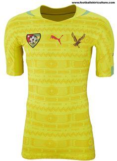 Togo-2014-Puma-Home-Football-Shirt-Kit-1 Football Kits, Soccer Shirts, Sports Shirts, Soccer Jerseys, Classic Football Shirts, Football Outfits, Football Design, Puma, Sport