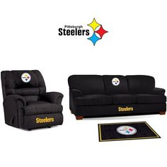 Use this Exclusive coupon code: PINFIVE to receive an additional 5% off the Pittsburgh Steelers Microfiber Furniture Set at SportsFansPlus.com