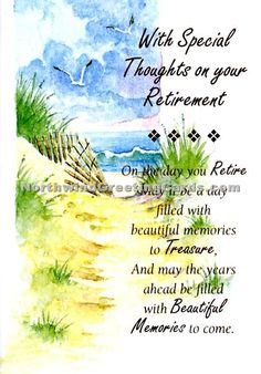 1000 Images About Retirement Greetings On Pinterest