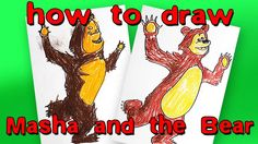 How to Draw Bear from Masha and the Bear