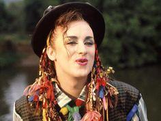 Boy George! culture club!
